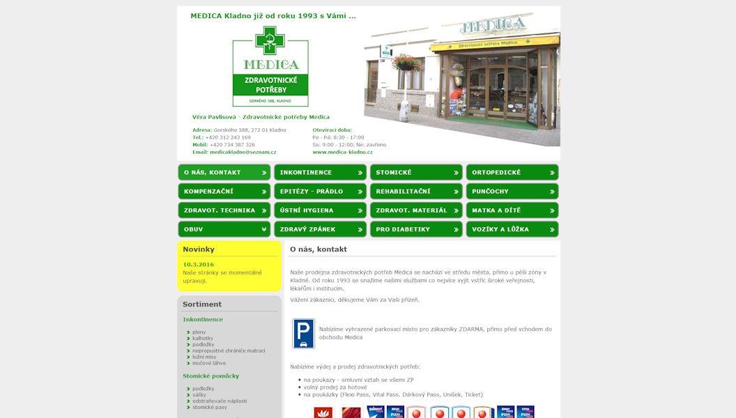Zdravotnické potřeby Medica 8b7d81212e